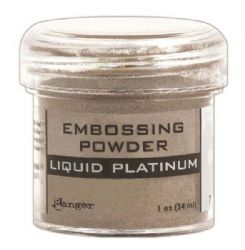 Ranger - Specialty 1 Embossing Powder - Liquid Platinum